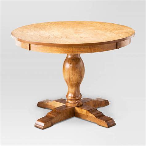small pedestal kitchen table pedestal dining table threshold ebay