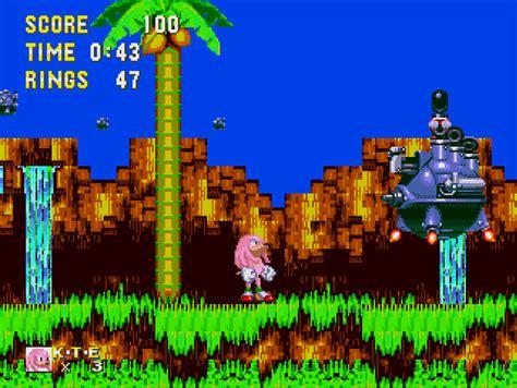 sonic knuckles sonic  hedgehog  world rom