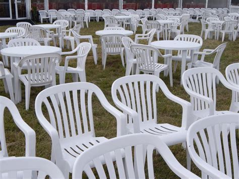 white patio chair event hire uk