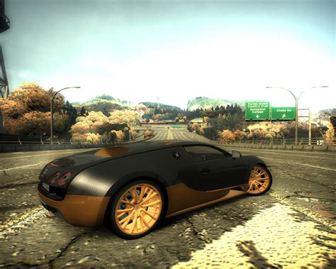 Need For Speed Most Wanted Bugatti Veyron Super Sport