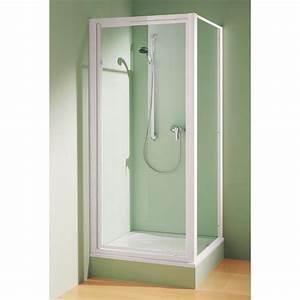paroi fixe pour montage avec une porte cada rothalux With montage porte de douche