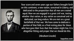 Abraham Lincoln Quotes Civil Rights. QuotesGram