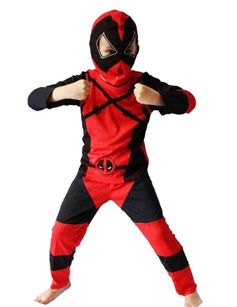 Deadpool Costume For Kids  Inspiring Wave
