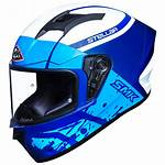 Smk Stellar Helmet Helmets Face Under Motorcycle