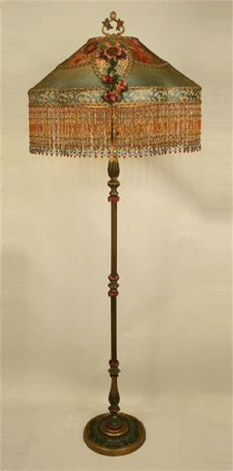 images  antique floor lamps  pinterest