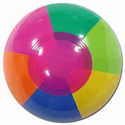 Rainbow Beach Balls Inch Beachballs 5in 12cm