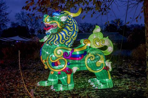 lights columbus save dragon displays light