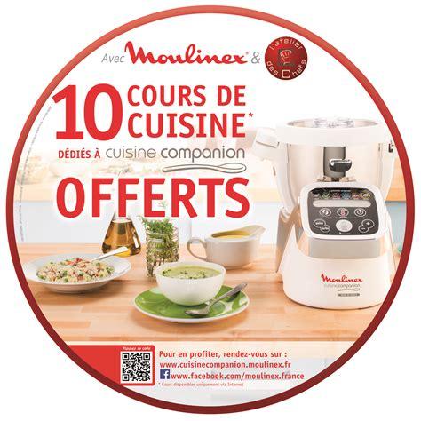 cours de cuisine gratuit en ligne moulinex offre des cours de cuisine en ligne petit