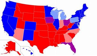 State Map States Republican Democratic Political Counties