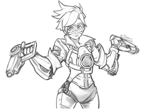 Kleurplaten Overwatch by Pin By Abbaton Abberday On Coloring Pages Overwatch