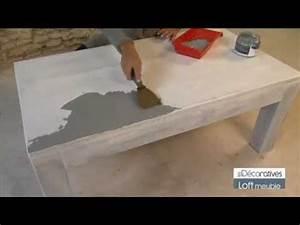 Peinture Sur Meuble : peinture les d coratives loft meuble sur www ~ Mglfilm.com Idées de Décoration