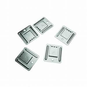 Fixation Lambris Pvc : clips inox pour lambris pvc seau de 150 clips sft ~ Premium-room.com Idées de Décoration