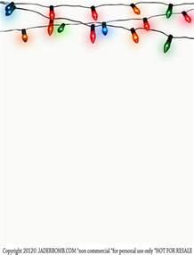 Free Printable Christmas Light Template