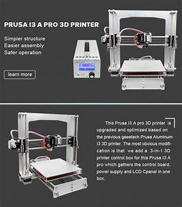 Geeetech Prusa I3 A Pro With 3