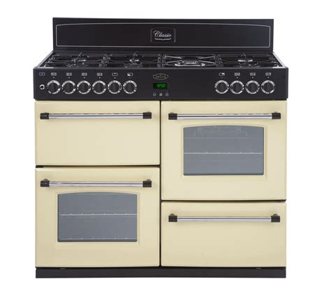 buy belling classic 100dft dual fuel range cooker free delivery currys