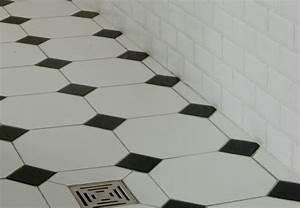 Salle De Bain Carrelage Noir : formidable carrelage damier noir et blanc salle de bain 8 ~ Dailycaller-alerts.com Idées de Décoration