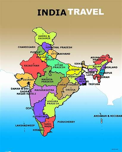 India Map Indian Country Travel Land