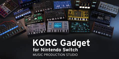 korg gadget  nintendo switch nintendo switch