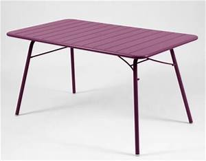 tables jardin metal jardin page n 5 With ordinary fermob jardin du luxembourg 6 table luxembourg fermob 143 x 80 cm