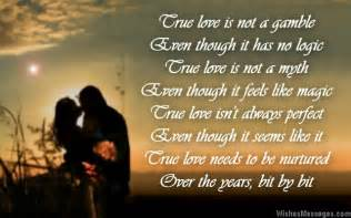 True Love Poems for Engagement