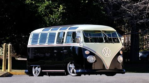 volkswagen custom  window bus resto mod