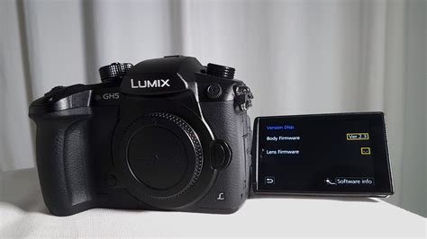 panasonic gh5 gh5s g9 firmware update improves