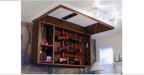 10 Cool Secret Gun Cabinets for Your Home [PICS]