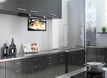 exclusivia televisores ideales  cocinas kitchen tv