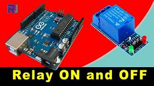 Using 5v 1 Channel Relay Module For Arduino