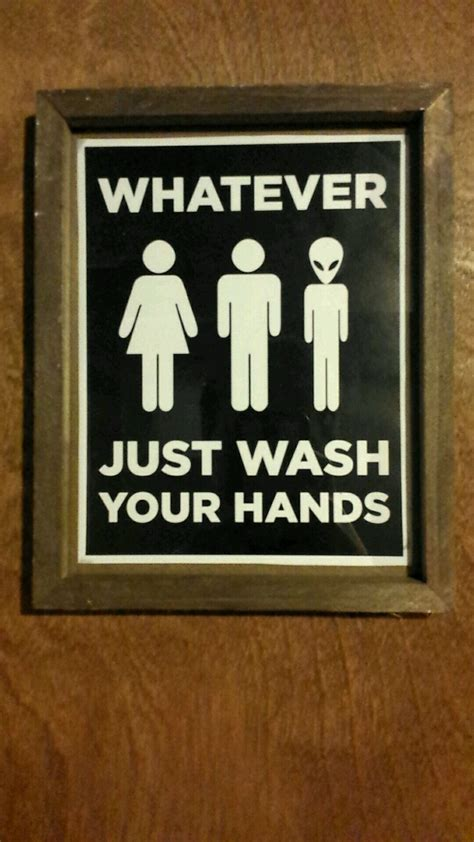 Gender Neutral Bathroom Sign Mildlyinteresting