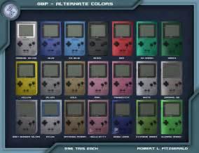 Game Boy Pocket Colors