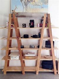 fine diy ladder bookshelf 79 best images about DIY: Things to make from old ladders on Pinterest | Plant stands, Face down ...