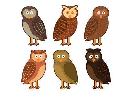 barn owl character vector download free vector art