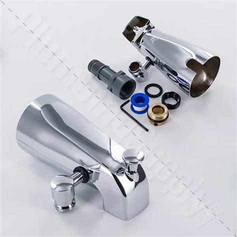 add shower to bathtub faucet add a shower handshower tub diverter kits