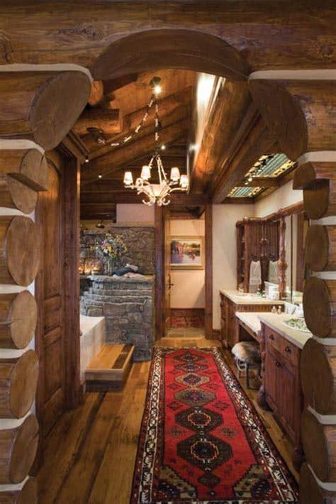 Teton County Wyoming Log Home Precisioncraft Log