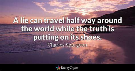 lie  travel     world   truth