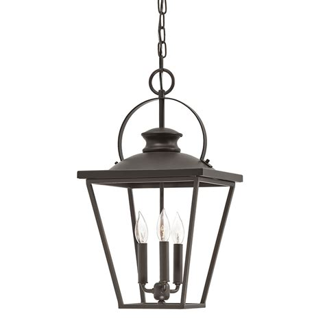 hanging light chain lowes shop kichler arena cove 12 01 in olde bronze country