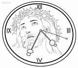 Clock Coloring Grandfather Printable Drawing Cuckoo Roman Cool2bkids Steampunk Getdrawings Intervals Minute Getcolorings sketch template