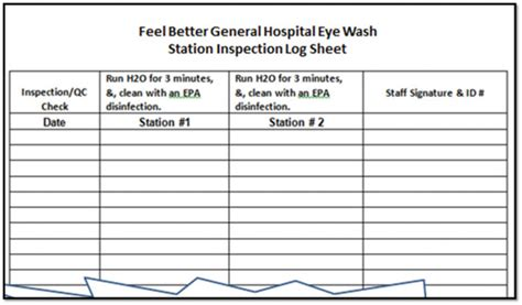 The most secure digital platform to get legally binding, electronically signed documents in just a few seconds. Excel Templates: Eyewash Station Maintenance Log