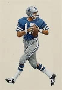 Dallas Cowboys Quarterback Roger Staubach