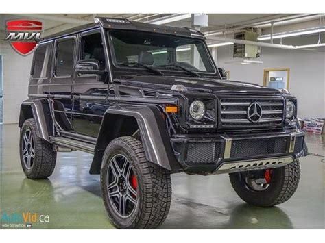 2018 Mercedes-benz G-class Base G550 4x4 Squared, Best