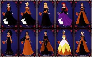 Halloween Disney Princesses by ArielxJim08 on DeviantArt