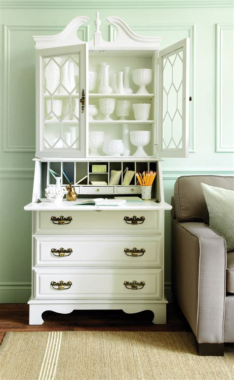 home office idea   turn  bookcase bureau