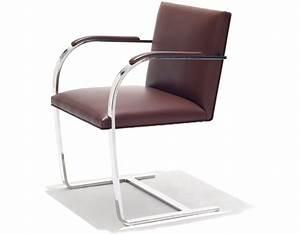 Mies Van Der Rohe Chair : brno chair with flat bar frame ~ Watch28wear.com Haus und Dekorationen