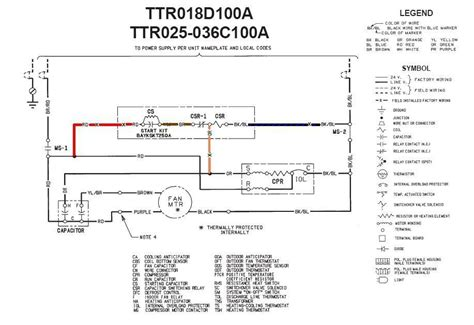 Thermal Zone Heat Wiring Diagram by Trane 4ttb3024g1000aa Low Voltage Wiring Diagram