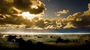 BEAUTIFUL SUN BEHIND THE CLOUDS HD WALLPAPER | Top HD ...
