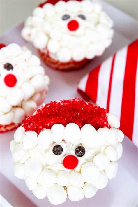 santa cupcakes recipelioncom