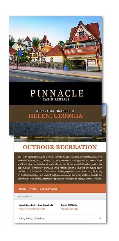 Guide Helen Cabin Ga Vacation Rentals Pinnacle