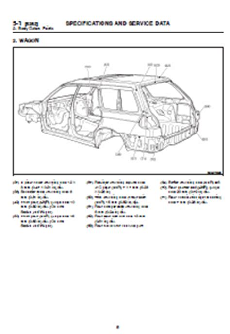 auto repair manual online 1998 subaru legacy seat position control 1998 subaru legacy factory workshop service repair manual