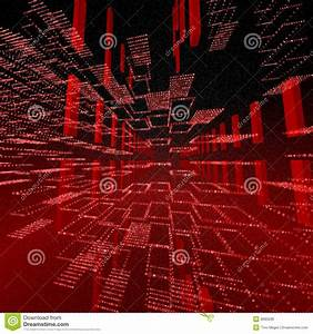 Square Red Matrix Background Royalty Free Stock Image ...